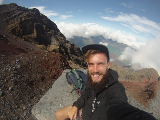 Last hike of 2014 : Mt Rinjani on Christmas Morning