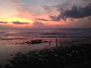 Last sunset in Bali