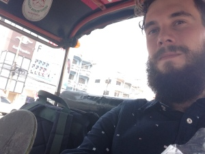 Last tuktuk ride in Thailand