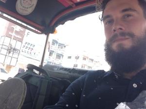 Last tuktuk ride in Thailand